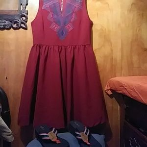 Everly dress with scandals